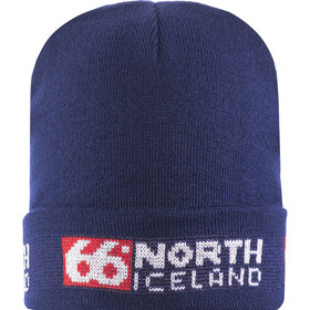 66° North Workman Berretto, blue/red & white